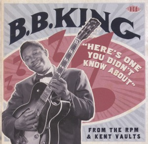 Soul Beat: Ace Collects Previously Unreleased B.B. King