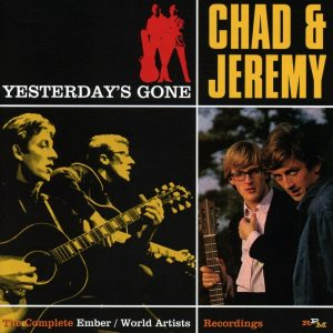 """A Summer Song: RPM Collects Chad and Jeremy's Complete Early Years On """"Yesterday's Gone"""""""
