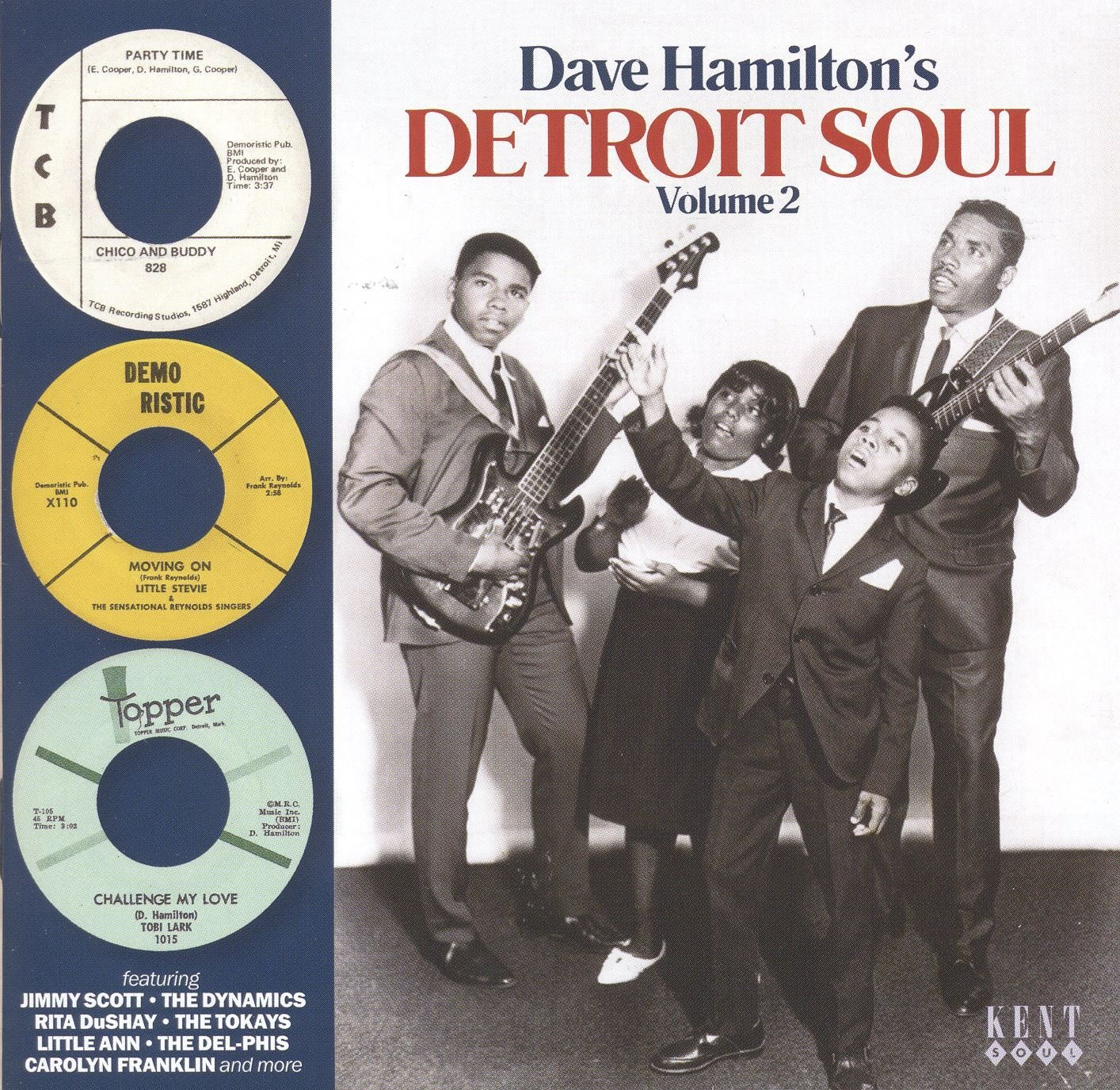 """When I Say Groove: Ace Explores """"Detroit Soul,"""" """"South Texas Rhythm 'n' Soul"""" On Recent Compilations"""