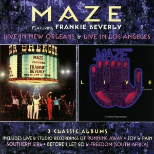 Feel That You're Feelin': Robinsongs Reissues Two Live Albums From Frankie Beverly's Maze