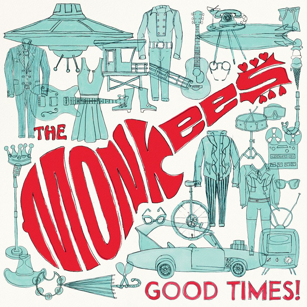 "Love to Love: The Monkees Announce New Album ""Good Times!"" Coming In June"