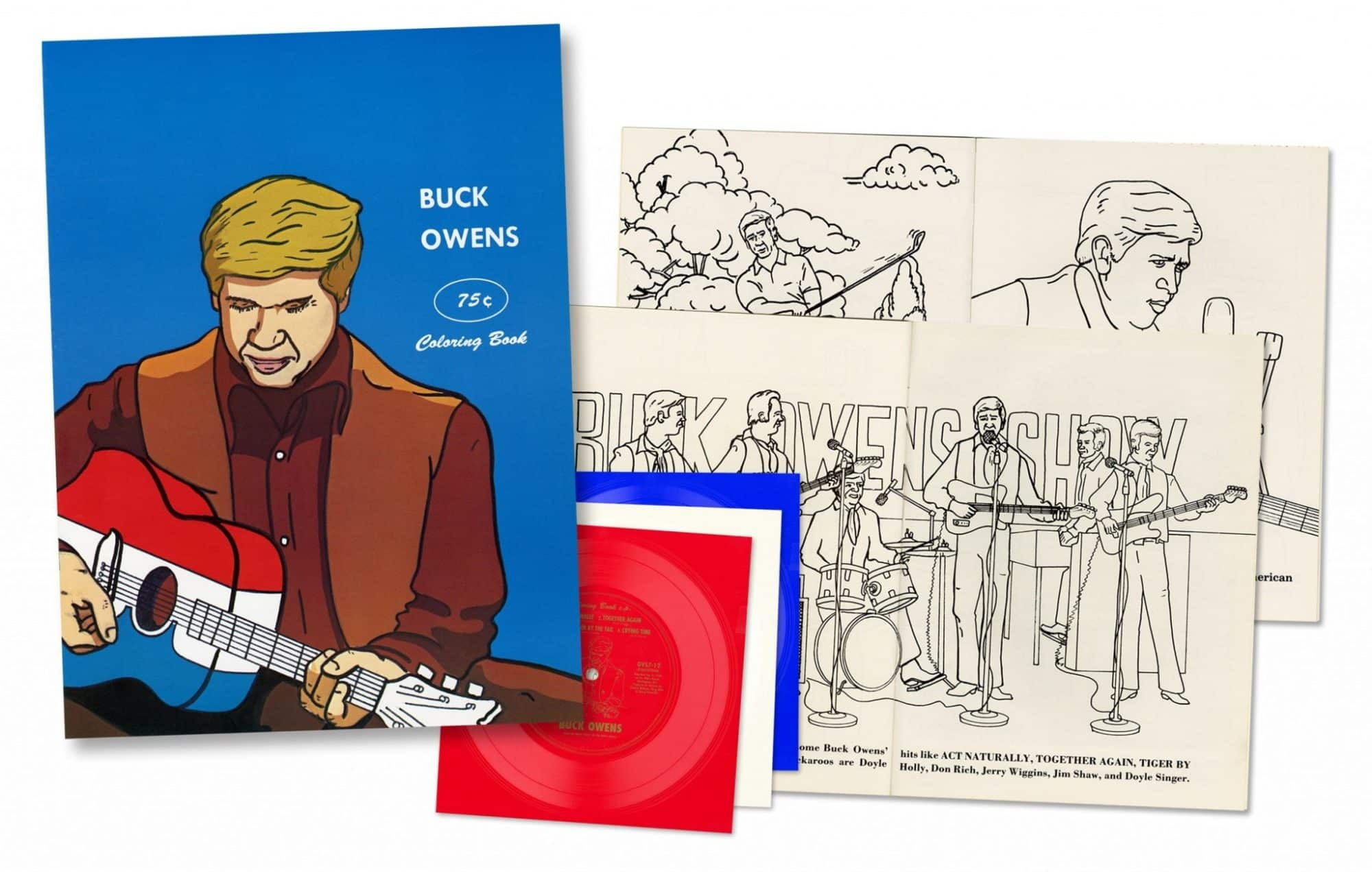 The coloring book ep - Buck Owens