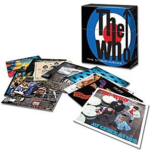 the who studio albums