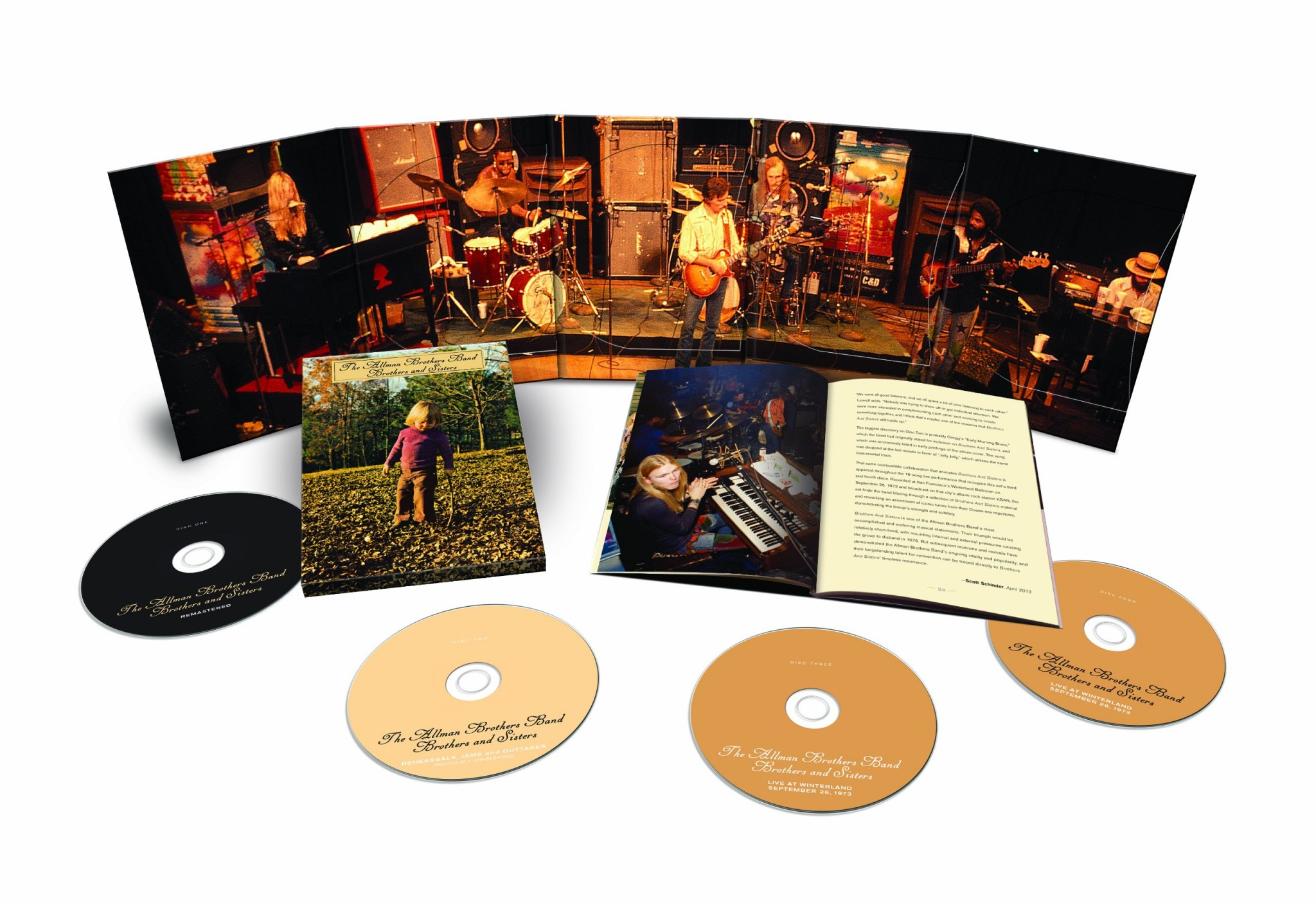 """Ramblin' Men: Allman Brothers Band's """"Brothers and Sisters"""" Goes"""