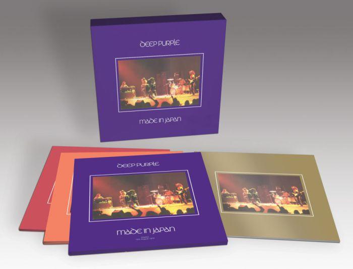 Deep Purple Made in Japan LP box