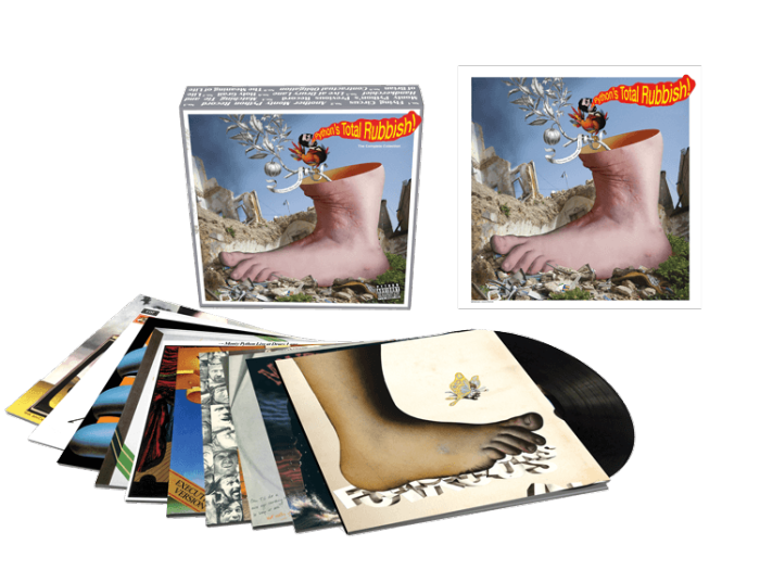 Monty Python LP box