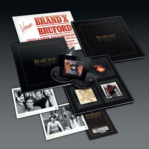 One Of A Kind Bruford Brings Box Set The Second Disc