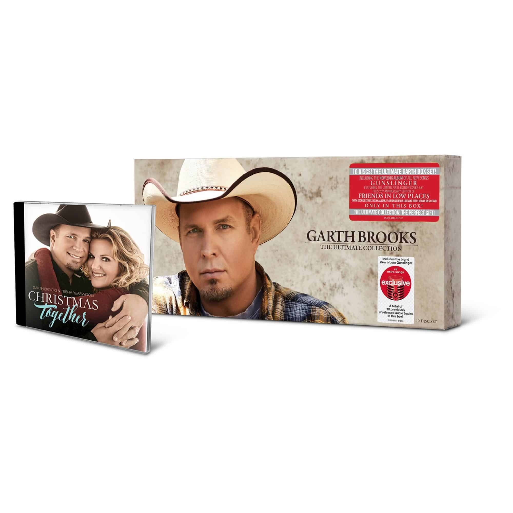 Garth Brooks Christmas Album.Ropin The Wind Garth Brooks To Release Target Exclusive Box The