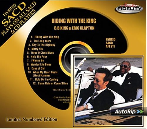 Riding With The King Hybrid Stereo Sacd The Second Disc