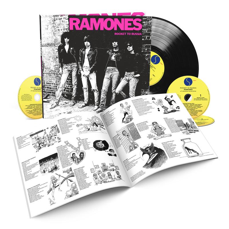 The Ramones Rocket To Russia 40th Anniversary Edition The