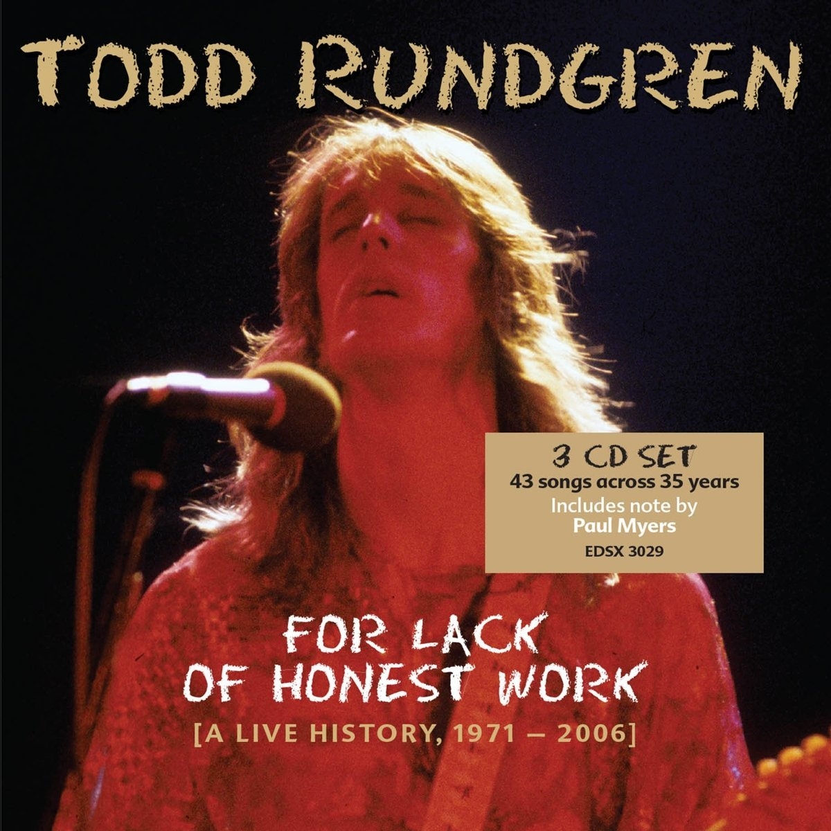 bang the drum all day edsel reissues todd rundgren s for lack of bang the drum all day edsel reissues todd rundgren s for lack of honest work